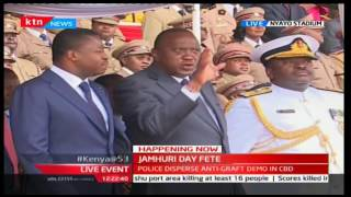 2016 JUMHURI DAY FETE - Kenyan Air Force shows their military prowess in the battle field