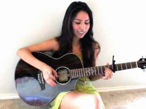Justin Bieber - Die in Your Arms Cover - Malena Reyes