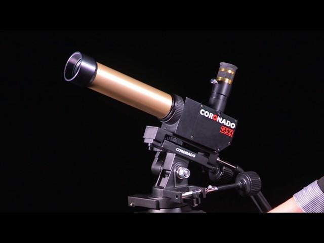 Coronado PST Personal Solar Telescope <1.0 Angstrom H-Alpha Refractor - PST