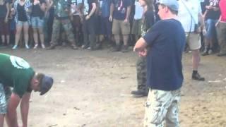 Anti-Flag - The Smartest Bomb Jarocin Festiwal 2011 (biggest circle pit)