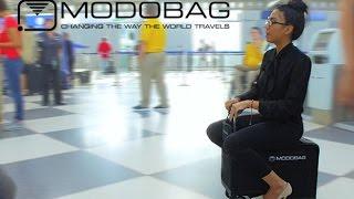 타고다니는 캐리어 Modobag