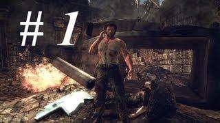 """Прохождение X-men Origins: Wolverine """"Выживший"""" # 1"""