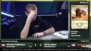 2015 Magic World Championship Semifinals: Owen Turtenwald vs. Paul Rietzl