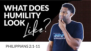 What is false humility got questions