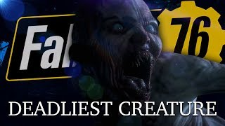 The Deadliest Creature In Fallout 76 | THE WENDIGO