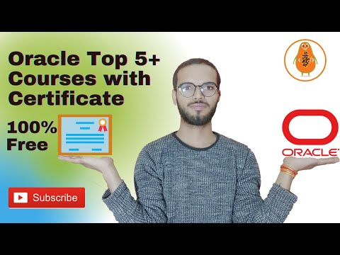 Oracle Top 5+ Courses & Certification 100% Free | Oracle 100 ...