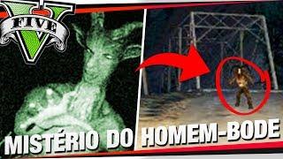 """GTA 5: O HOMEM-BODE! - Investigando O Mistério Do """"Goatman"""" (Caçadores De Mitos)"""