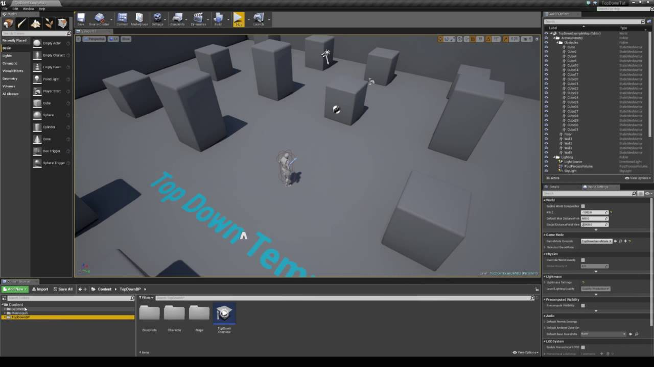Unreal Engine 4 Tutorial - Custom Mouse Cursors