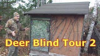 Deer Blind Tour - Hunting In Comfort Part 2