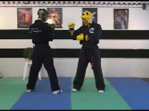 Sport Karate; Sparring and Your Hand Positioning.