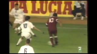 Real Madrid 3 - Albacete 0. Temp. 92/93. Jor. 4.
