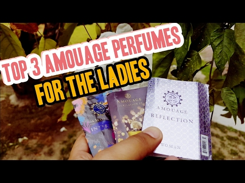 Top 3 Amouage fragrances for women | Oriental niche perfumes