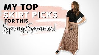 Stay On Trend This Spring With My Favorite Long Skirts!