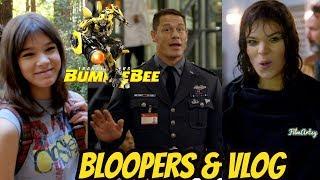 Bumblebee(2018) Funny Bloopers & Hailee Steinfeld's First Vlog | Behind The Scenes