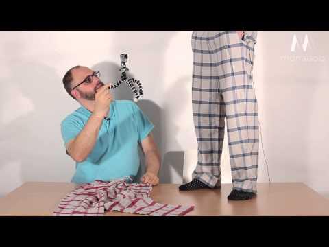 Slumber4you Schlafanzugshose aus Bio-Baumwolle für Erwachsene (c) Monagoo.com