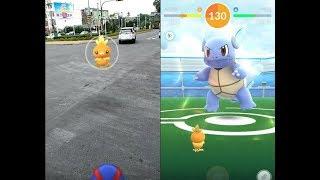 【Pokemon GO】收服第三代寶可夢 火稚雞 刺尾蟲 溶食獸 毒薔薇 / 團體戰卡咪龜!