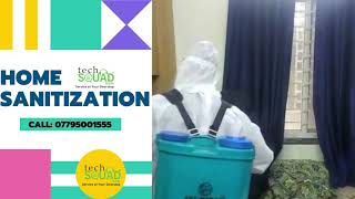 No More Germs in House with Techsquadteam Home Sanitization Services