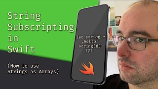 String Subscripting in Swift (How to use Strings as Arrays) - The Matthias iOS Development Show