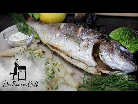 Dorade grillen mit Trick: Fisch klebt nicht am Rost!