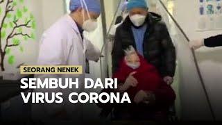 Seorang Nenek Dinyatakan Sembuh dari Virus Corona setelah Dirawat Intensif