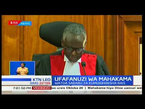 Majaji wa mahakama ya juu wameiondolea lawama IEBC kwa kukosa kuandaa uteuzi upya wa wagombeaji