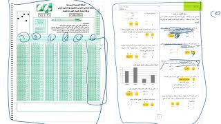 طريقة التظليل الصحيحة في اختبار القدرات الورقي (عشان نرتب أنفسنا ونحافظ على الوقت)