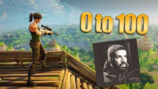 Fortnite Montage Drake 0 To 100
