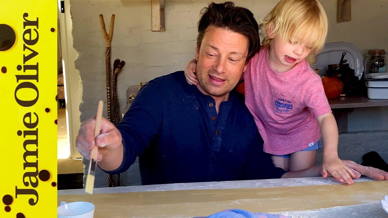 Nettle ravioli: Jamie Oliver
