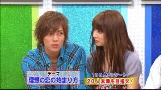 北川景子が山下智久の学生時代を語る「同じ学校で同じ学部で・・・・」