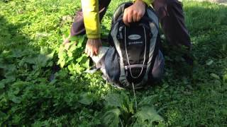Deuter Superbike 14 EXP SL / granite-black - відео 1
