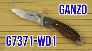 Ganzo G7371-WD1 - відео 1