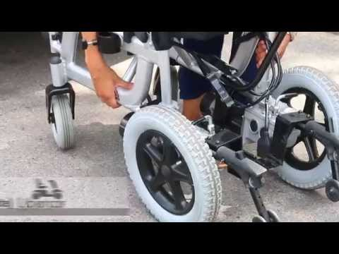 Silla de ruedas eléctrica plegable Libercar Emblema - www.ortoweb.com