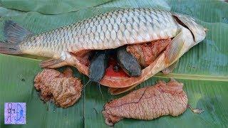 Mổ Bụng Cá Khổng Lồ Phát Hiện 1 Điều Ghê Rợn & Khó Tin . Amazing ! Belly Of The Fish