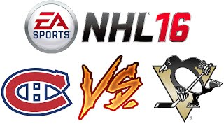 NHL 16 - Ranked Online Versus #3 - Penalties Galore! - Video Youtube