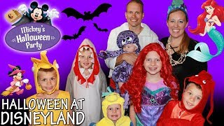 Mickey's Halloween Party + HUGE Candy Haul!