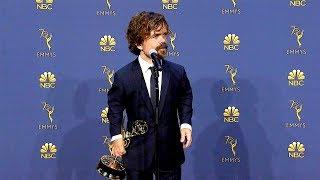 Emmys 2018: Peter Dinklage Backstage (Full Press Conference)