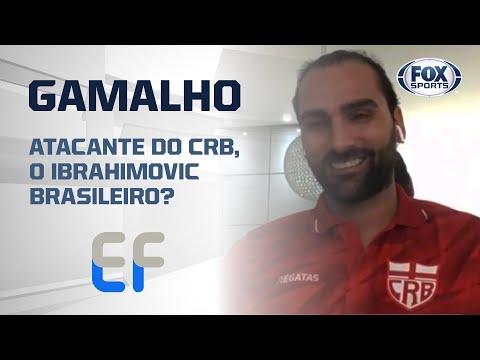 O IBRAHIMOVIC BRASILEIRO? Léo Gamalho, atacante do CRB, no