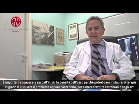 Trattamento chiropratico di dislocazione cervicale