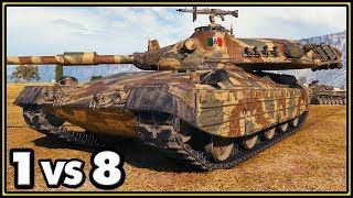 Progetto M40 mod. 65 - 1 vs 8 - World of Tanks Gameplay