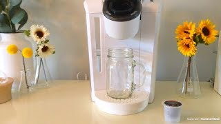 HOW TO MAKE A STARBUCKS ICED COFFEE | KEURIG COFFEE MAKER