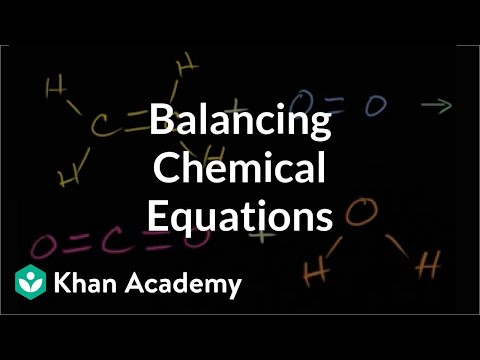 Visually understanding balancing chemical equations (video ...