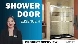 Watch DreamLine Essence H | Sliding Shower Door | Sliding Tub Door