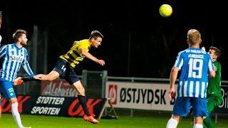 Highlights: Hobro IK - Esbjerg FB 2-2 (28-09-2015)