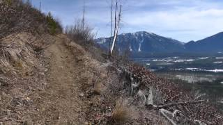 Short trail review of Apgar Lookout from 2015 in the spring.