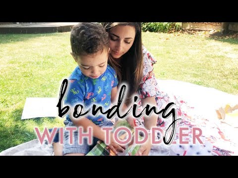 5 SIMPLE WAYS TO BOND WITH YOUR TODDLER | How To Reconnect With Your Child | Ysis Lorenna