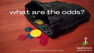 What are the odds? Mark 15:23