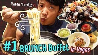 #1 Vegas BRUNCH Buffet, BEST Ramen Noodles & TACO TRUCK in Los Angeles