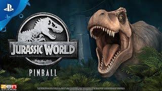 UNIVERSAL Jurassic Theme Park backglass video PinballX - Pinball FX3