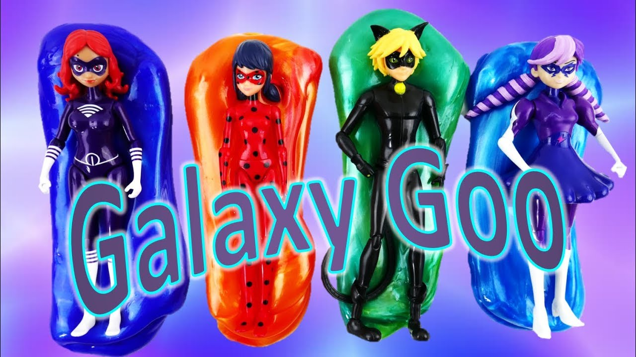 Galaxy Goo with Miraculous Ladybug Toys