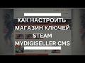 Как настроить магазин ключей стим Mydigiseller PRO / Как сделать свой интернет магазин игр
